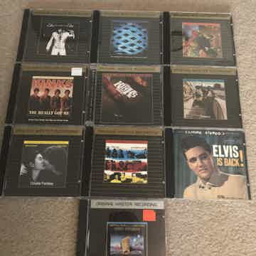 Lot OF 10 Gold Cd's Miscellaneous