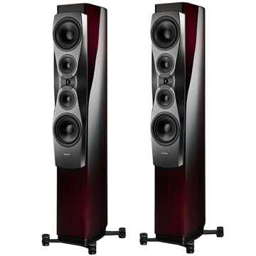 Dynaudio CONFIDENCE 60  Floorstanding Speakers (Ruby Wo...