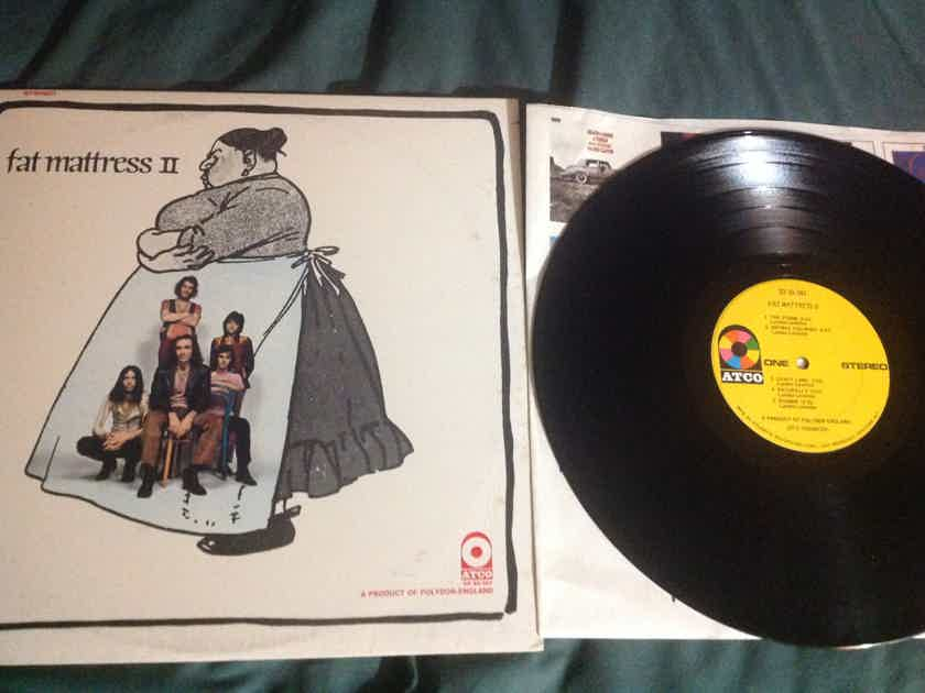 Fat Mattress - S/T  Noel Redding Vinyl LP NM Yellow Atco Records Label