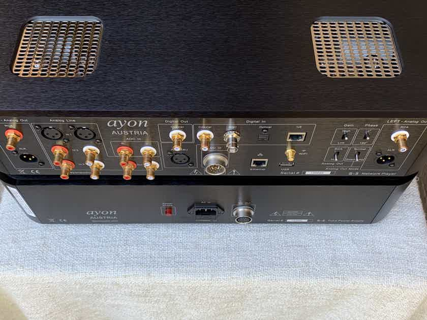 Ayon Audio S5 Tube Network Player, DAC with Analogue Volume Control