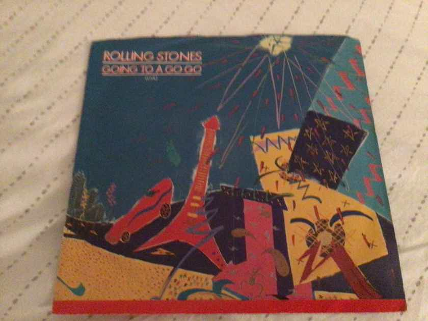 Rolling Stones 45 With Picture Sleeve Vinyl  Going To A Go-Go/Beast Of Burden