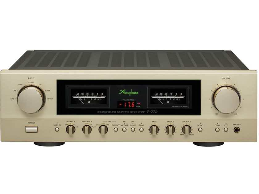 Accuphase E-270 integrated amp, 2019 model, brand NEW