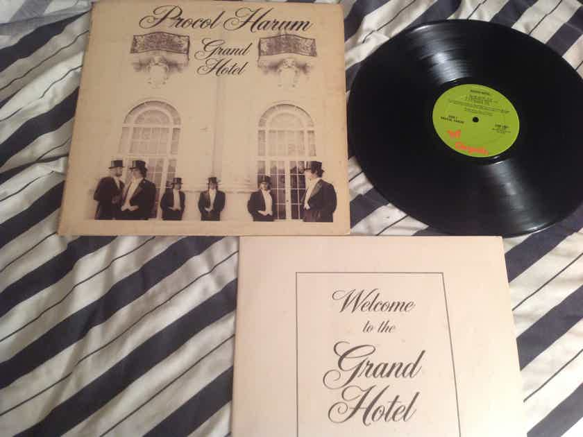 Procol Harum The Grand Hotel With Booklet