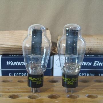 Western Electric 300B Electronic tubes Matching pair
