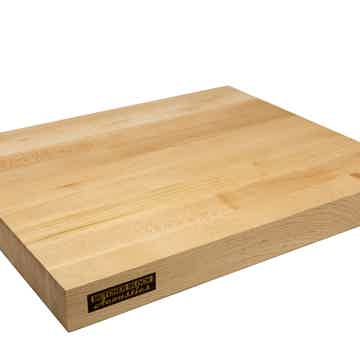 "17"" X 14"" X 1-3/4"" Maple Edge-Grain Audio Platform"
