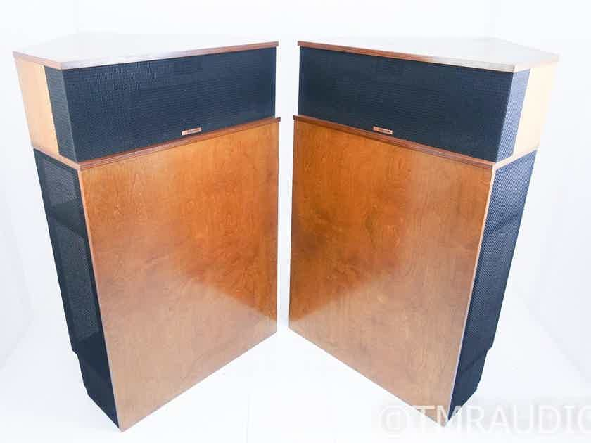 Klipsch Klipschorn Vintage Floorstanding Speakers; Raw Birch Pair (17437)
