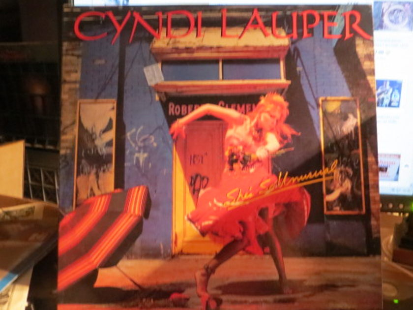 CYNDI LAUPER - SHE'S SO UNUSAL