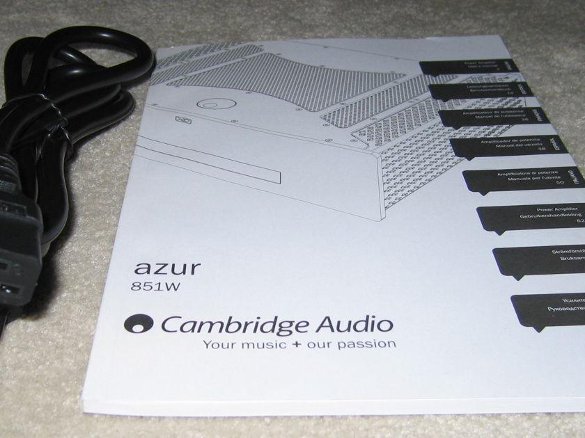 Cambridge Audio 851W Power Amp
