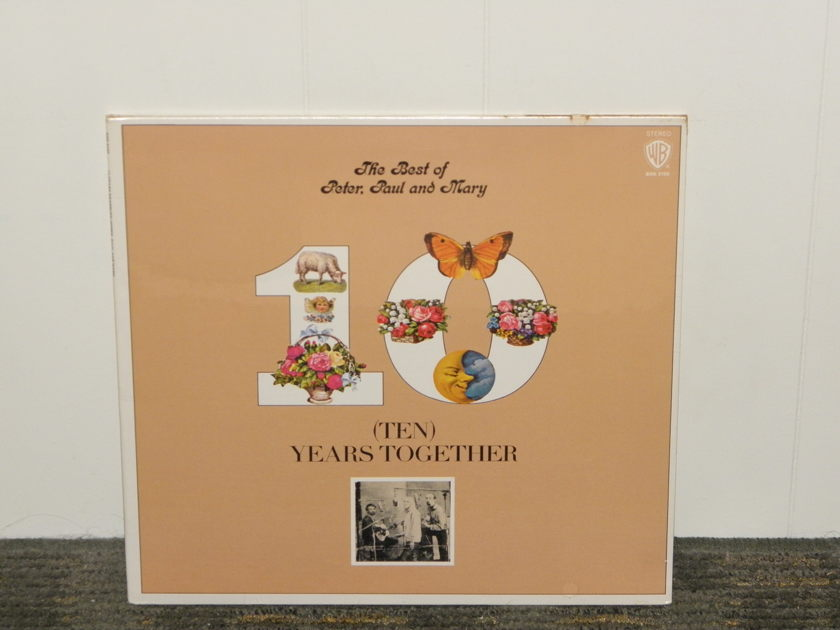 """Peter,Paul,and Mary. """"The Best Of"""" - Warner Bros WB BSK3105 STILL SEALED"""