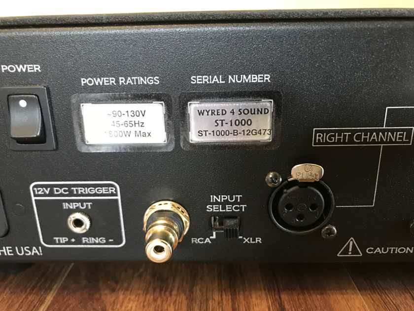 Wyred4Sound ST-1000 Amplifier (W4S)