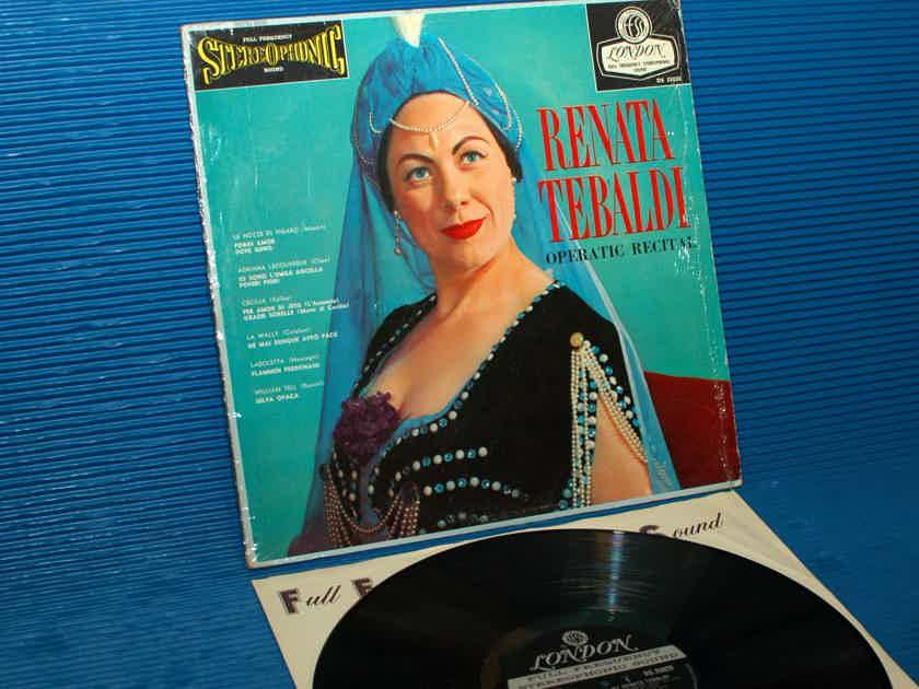 "RENATA TEBALDI   - ""Operatic Recital"" - London 'Blue Back' 1959 Early Pressing"