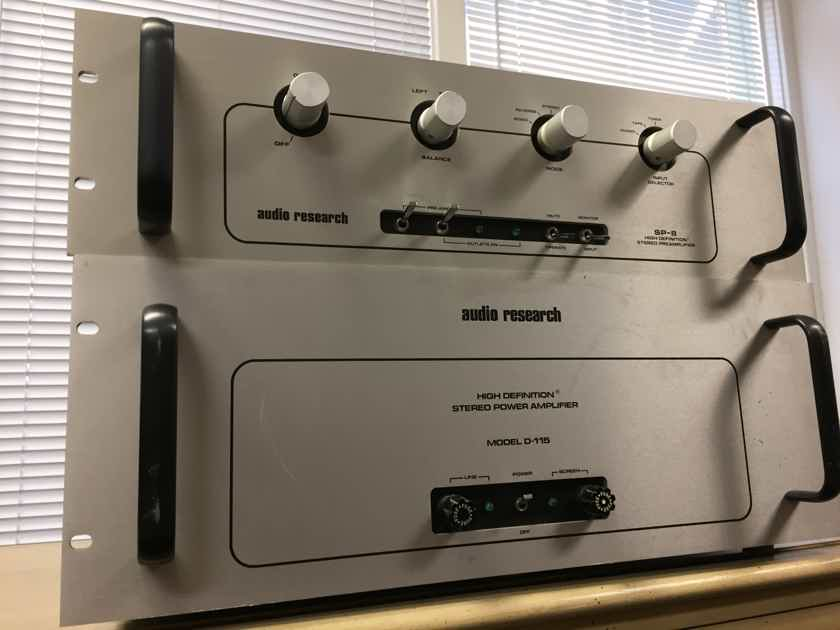 Audio Research D-115 +SP-8