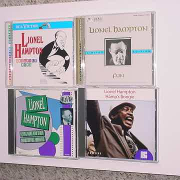 JAZZ CD Lot of 4 CD'S  Lionel Hampton