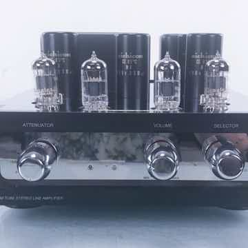 Line-2 Stereo Tube Preamplifier (New Tubes)