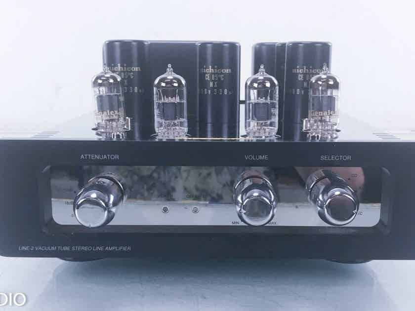 Audio Space Line-2 Stereo Tube Preamplifier (New Tubes)  (13800)