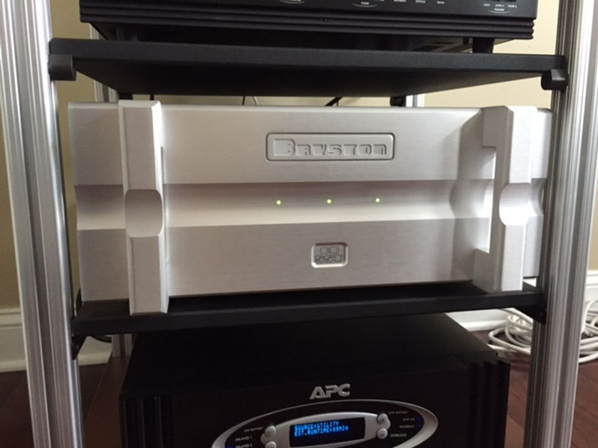 Bryston 6B-SST Silver - Amazing 3-channel Amp.  Excellent Condition