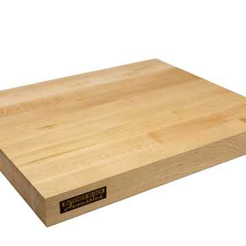 "19"" X 16"" X 1-3/4"" Maple Edge-Grain Audio Platform"