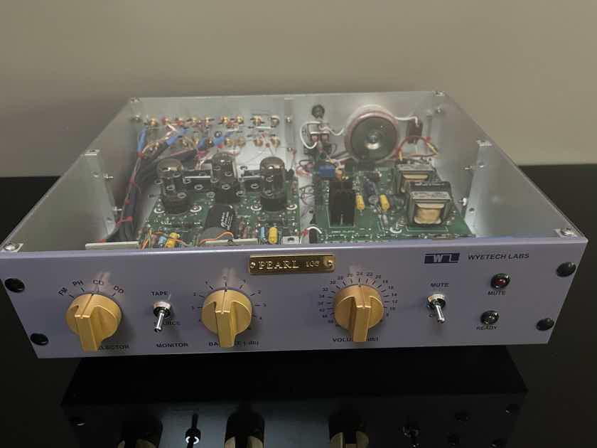 Wyetech Labs Pearl Stereo Tube Linestage Preamplifier