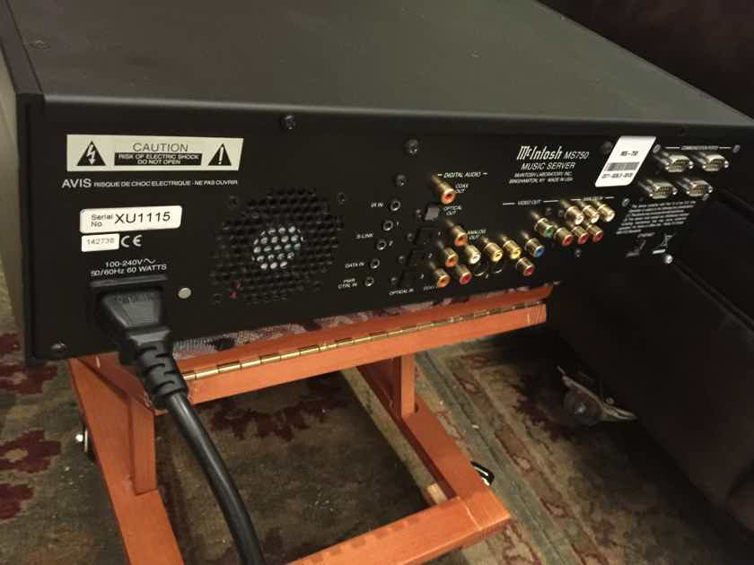 """Mcintosh  MS750 Musi Server """"Does Not Boot Up"""""""