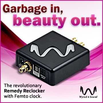 Wyred 4 Sound Remedy Reclocker —