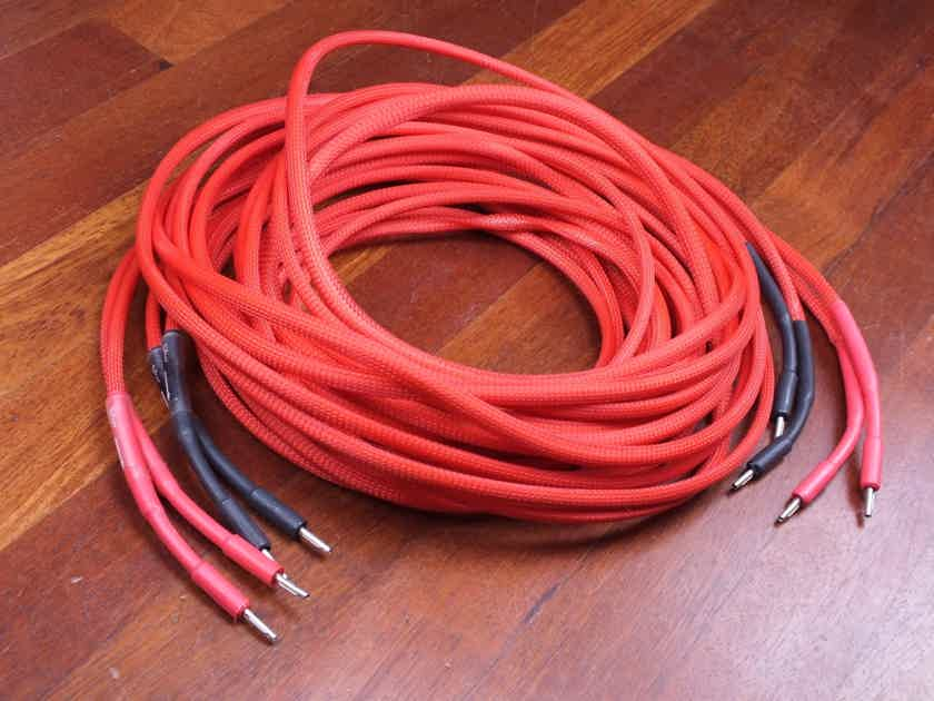 Silver Arrow Simply Red speaker cables 5,0 metre