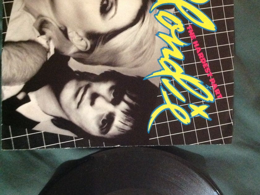 Blondie - The Hardest Part 45 With Sleeve