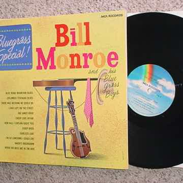 bluegrass special lp record in shrink