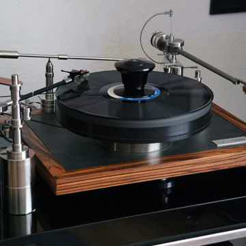 "Cantano Cantano W/T turntable and 12"" tonearm - precisi..."