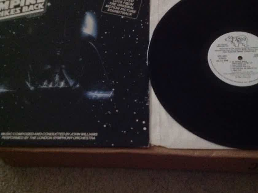 Soundtrack - Selected Cuts From The Empire Strikes Back  White Label Promo Vinyl LP NM  RSO Records Label