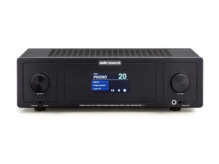 Audio Research SP-20 Black finish Store Demo.