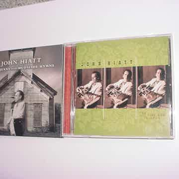 John Hiatt 2 cd's Tiki Bar is open and dirty jeans mudslide hymns