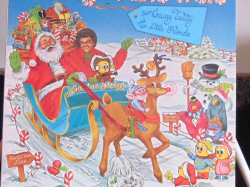 Conway Twitty Lp - Merry Twismas Near Mint