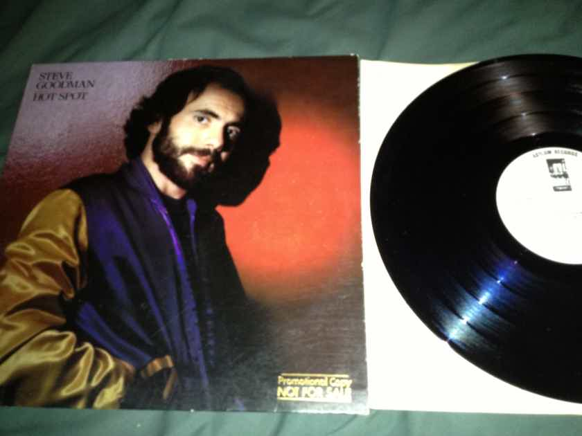 Steve Goodman - Hot Spot White Label Promo LP NM