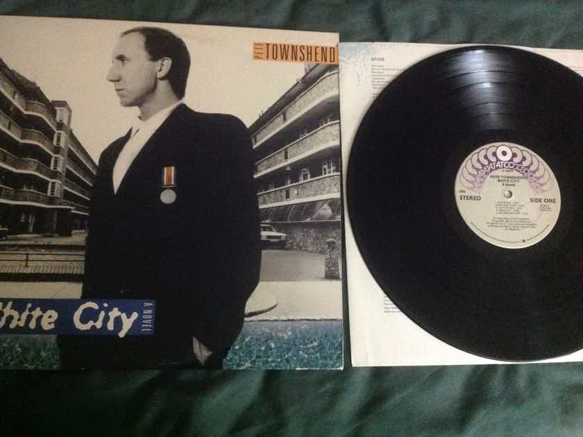 Pete Townshend  White City A Novel Columbia Record Club Edition