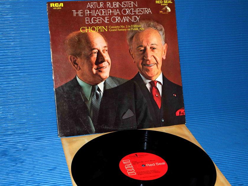 "CHOPIN / Rubinstein  - ""Concerto No. 2 / Grand Fantasy"" -  RCA Red Seal 1969 4S/5S"