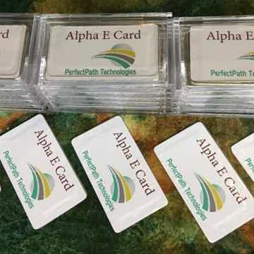 Alpha E Card