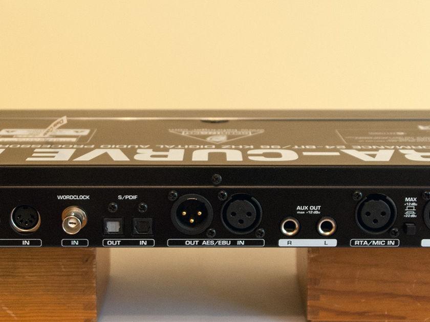 Behringer Ultra Curve Pro DEQ2496 Digital Equalizer - Microphone Included