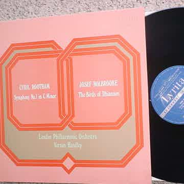 Cyril Rootham symphony no1 in C Minor lp record Josef Holbrooke birds of Rhianon LYRITA SRCS103