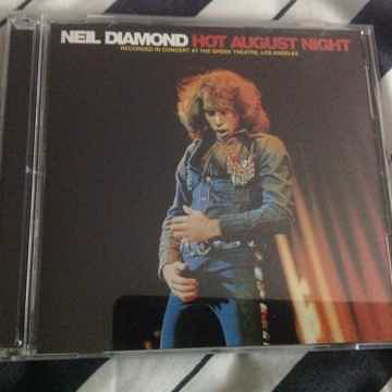 Neil Diamond  - Hot August Night MCA Records 2 Compact ...