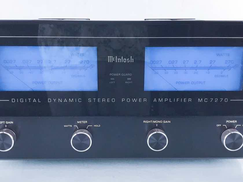 McIntosh MC7270 Stereo Power Amplifier MC-7270 (14966)