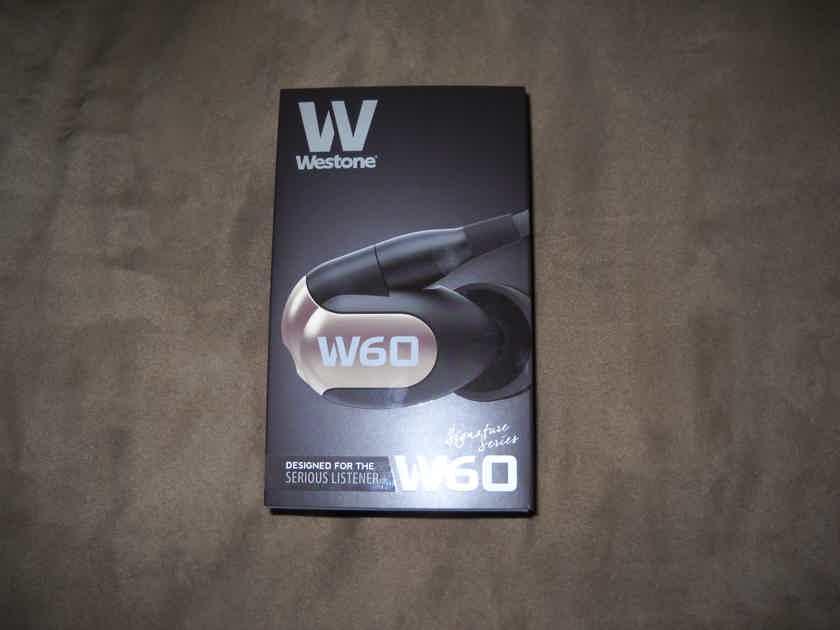 Westone W60 Signature Earphones NIB