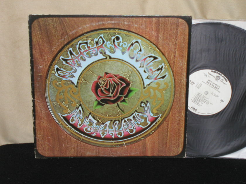 Grateful Dead - American Beauty WB White Label Promo from 1970
