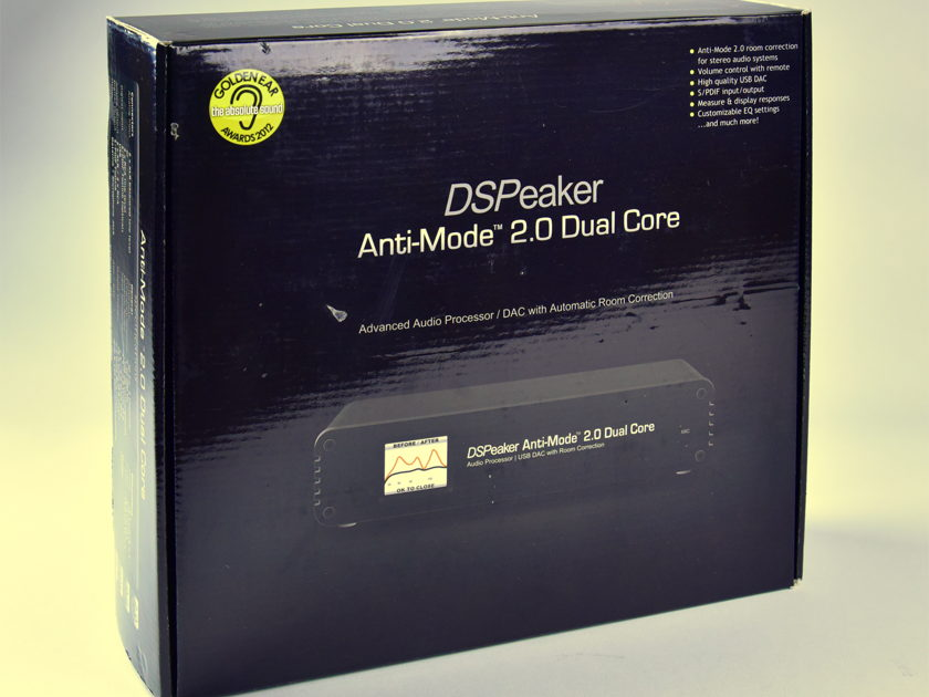 DSPeaker Anti-Mode 2.0 Dual Core Great device, very versatile, great Stereo subwoofer xover