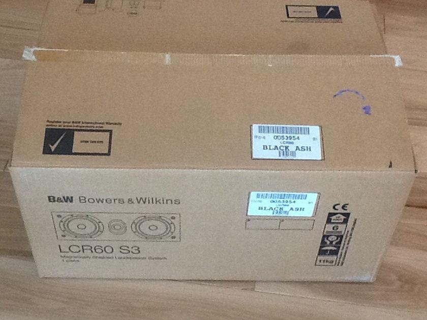 Bowers & Wilkins LCR60 S3 B&W