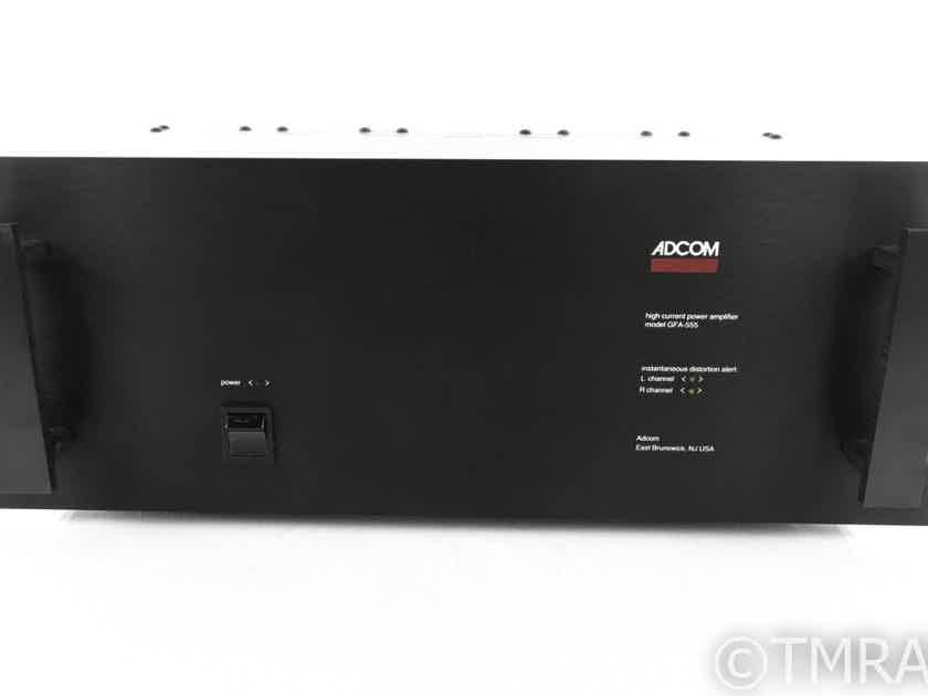 Adcom GFA-555 Stereo Power Amplifier; GFA555 (21668)