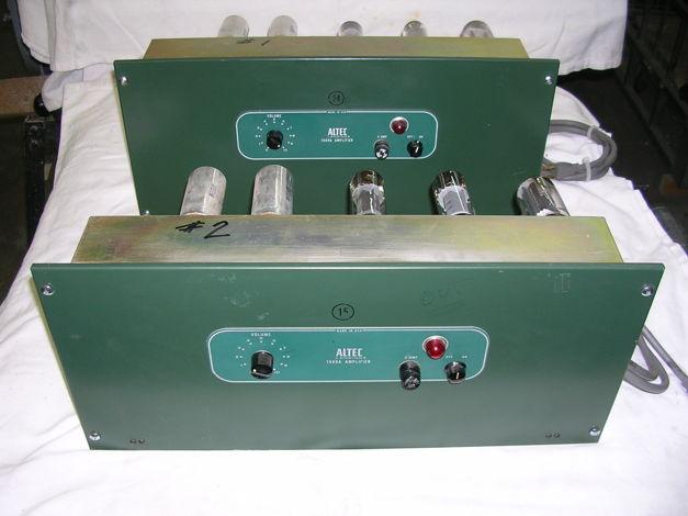 ALTEC LANSING 80 watt tube mono pair
