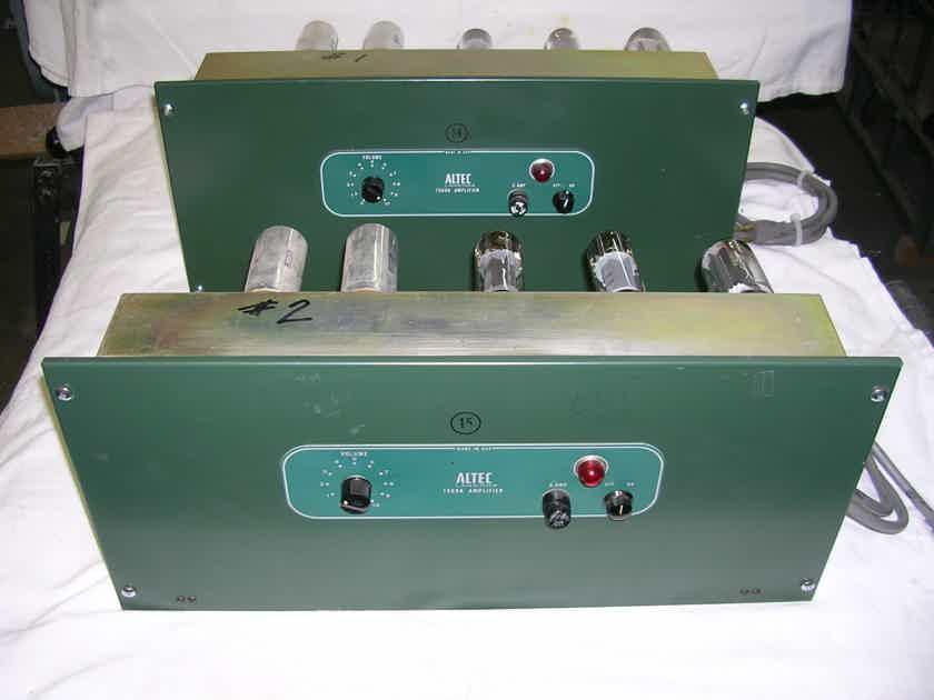 ALTEC LANSING 80 watt tube mono pair.....................Model 1569