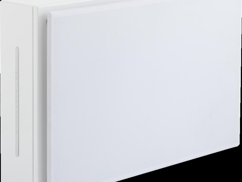 REL Habitat 1 White On-Wall Subwoofer