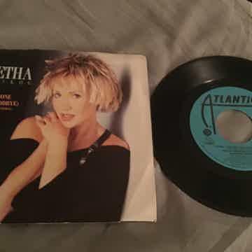 Agenetha Faltskog Promo 45 With Picture Sleeve Vinyl NM  I Wasn't The One Who Said Goodbye