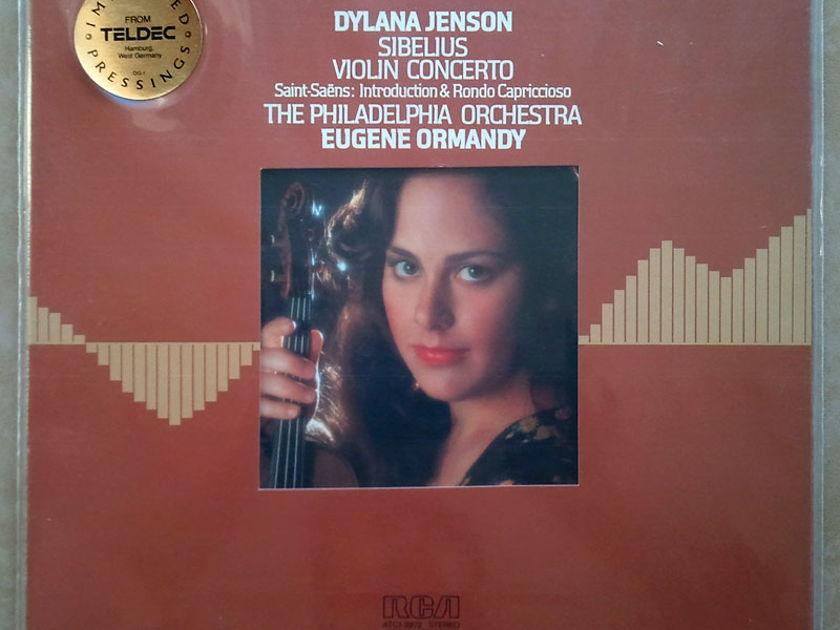 Sealed RCA Digital | DYLANA JENSON/ORMANDY/SIBELIUS - Violin Concerto / Audiophile German Pressings